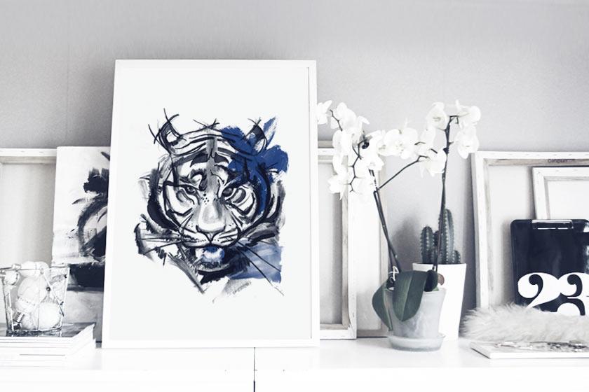 Blue_Tiger_Framed_02