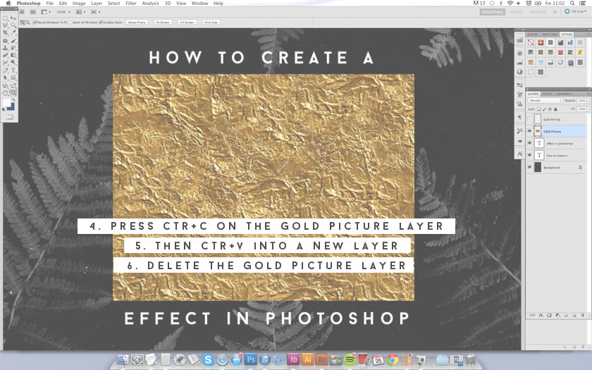 How_To_Create_A_Gold_Effect_In_Photoshop_04