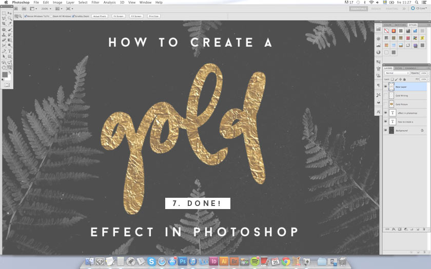 How_To_Create_A_Gold_Effect_In_Photoshop_05