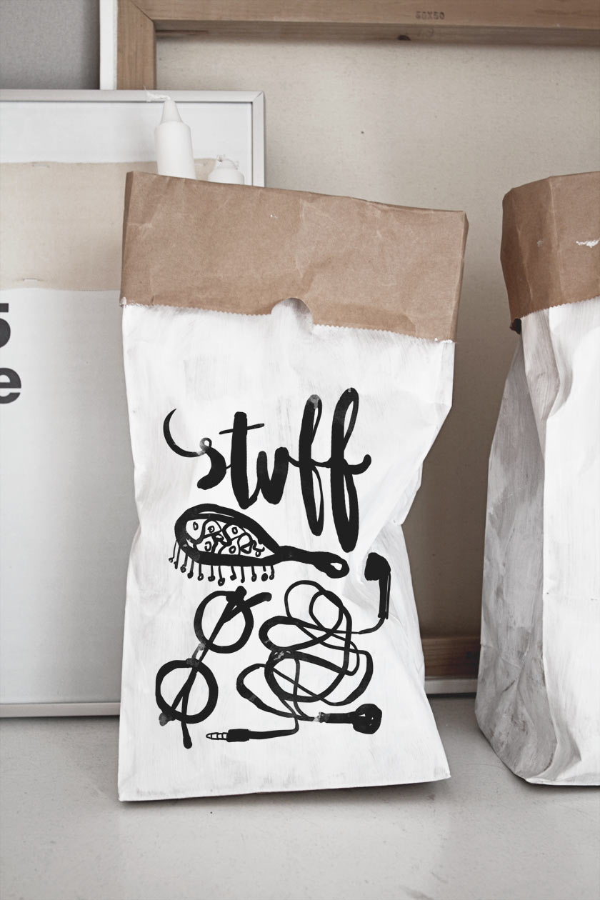 Diy Storage Paper Bag S A R W O D Bloglovin