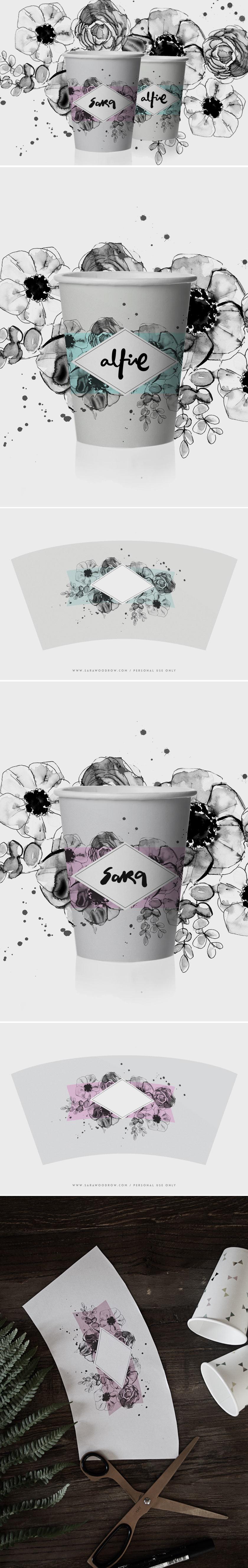 Printable_Cup_Wraps